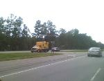 DOT Stops a Rail Truck